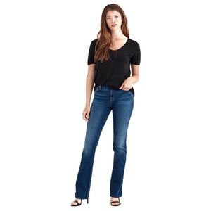 7 FOR ALL MANKIND Dark Wash Boot Cut Jeans 26